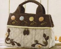 No.69 PDF Pattern Ebook Handbag Bag Purse six pocket sewing handmade supply