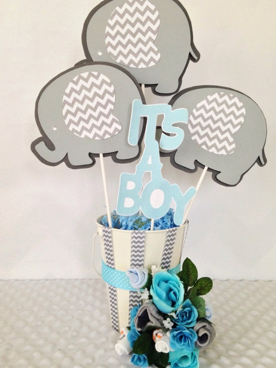 elephant baby shower centerpiece elephant theme baby shower party