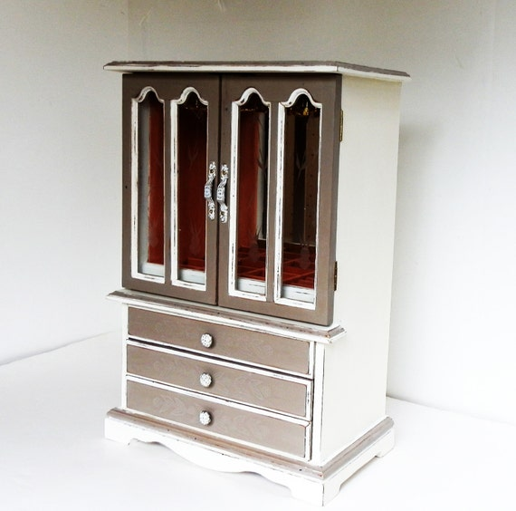 Ladies jewelry box large girls jewelry chest jewelry armoire for Girls large jewelry box