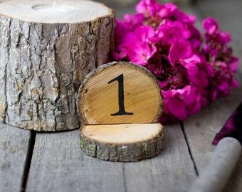Rustic Wedding - Table Numbers