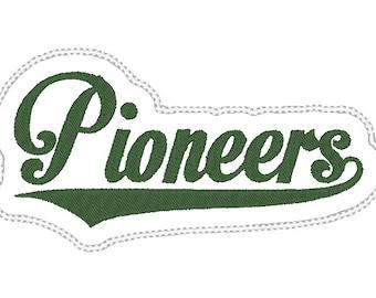 Pioneers Headband Slider design Instant Download
