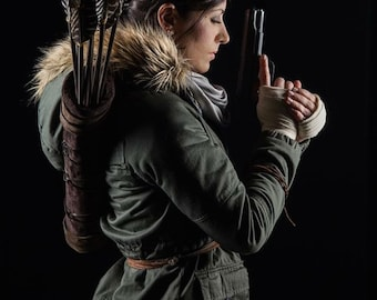 Quiver for Lara Croft Rise Of The Tomb Raider Cosplay
