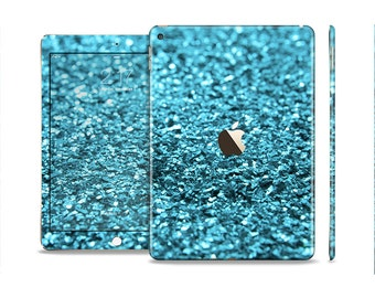 The Turquoise Glimmer Skin Set for the Apple iPad (All Models Available)