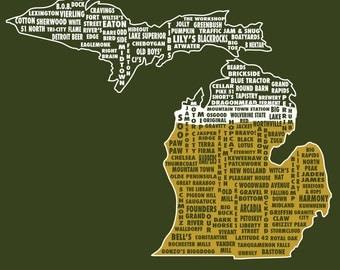 Drink Local- Michigan Beer T-shirt