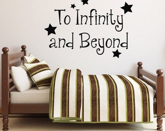To Infinity and Beyond - Toy Story Inspired Children Vinyl Decal