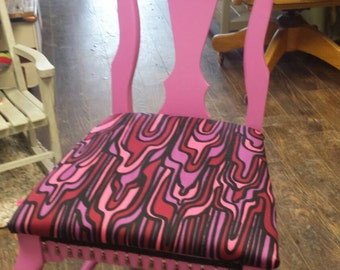 Fabulous pink chair