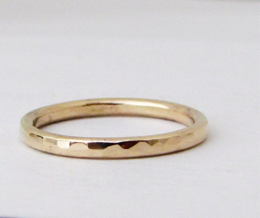 gold wedding band simple gold wedding ring stacking gold rings