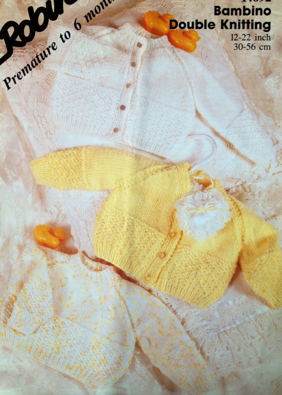 Knitting Patterns For Preemies : baby knitting patterns premature cardigans and jumper 12-22