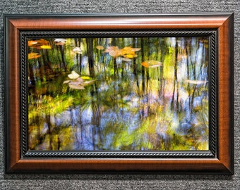 Framed Smoky Mountains Monet Fine Art Photo from William Britten