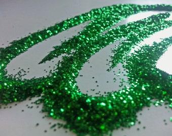 glitter - green fine polyester