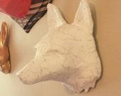 Paper Fox head