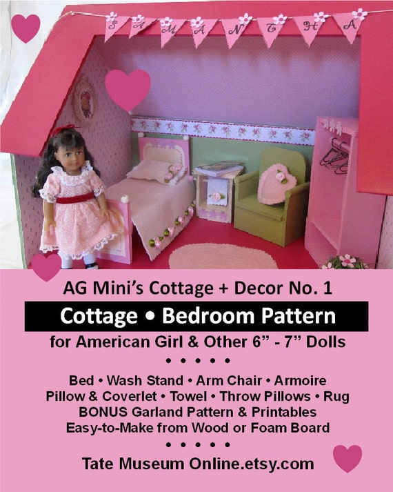 American girl our generation mini doll house cottage room for Room decor jeneration
