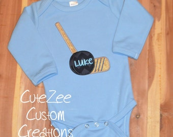 Hockey Onesie/Shirt (Short Sleeve)