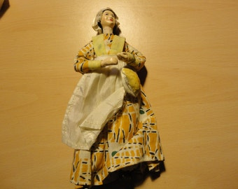Cornish Pasty seller doll