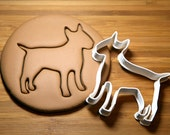 Bull Terrier Cookie Cutter Made to order B0134