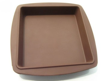 Square baking pan large square baking mold silicone cake mold  soap mold  mould