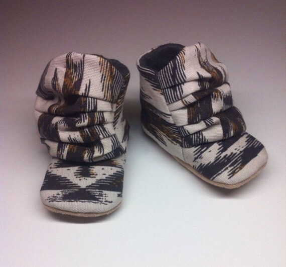 Baby boots, tribal baby boots, baby booties