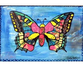 Origianl Butterfly Print Download