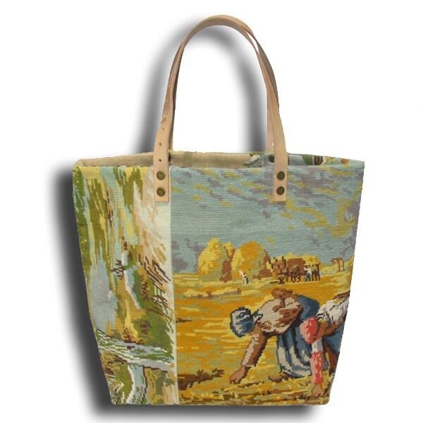 Tapestry handbag Etsy