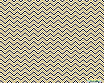 Black, gold and white mini chevron craft  vinyl sheet - HTV or Adhesive Vinyl -  zig zag pattern HTV1512