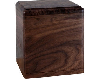 Walnut President Wood Cremation Urn