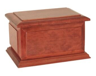Boston Cherry Companion Wood Cremation Urn