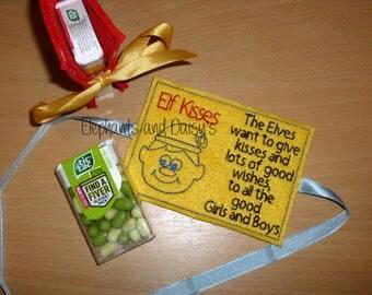 Elf Kisses Embroidery design file