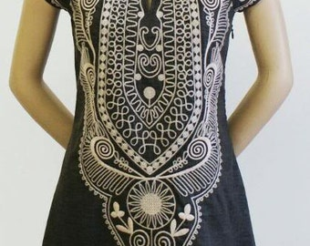 Pull Over White Color Embroidery Tops With Wonderful Dress Party Wear