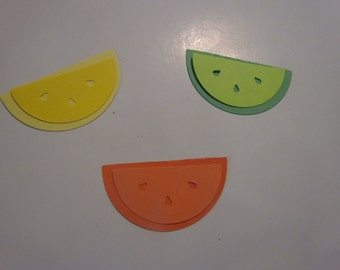 citrus fruit die cuts