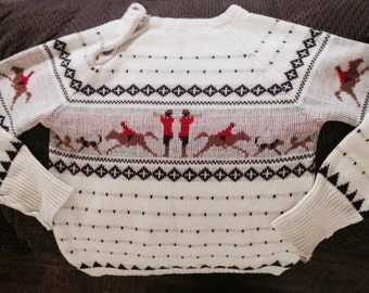 1970s Vintage Toddler Sweater