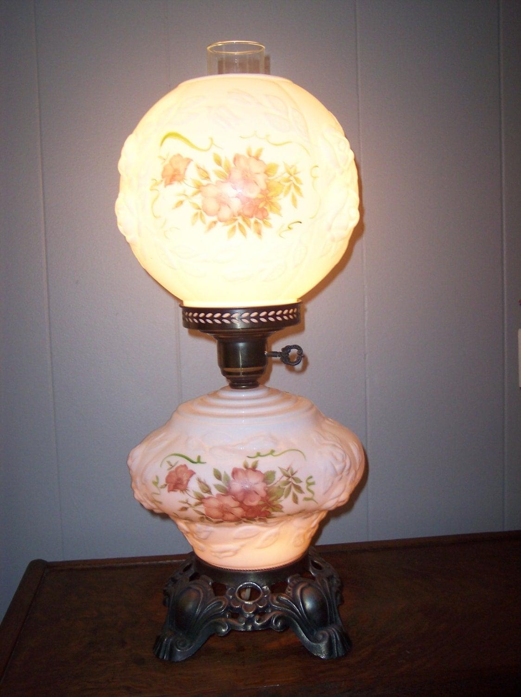 Phoenix Lamp Company Gone With The Wind Lamp Hurricane