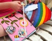Ada's Quiet Book - DIY Pattern * Quiet Book Pattern * Toy Pattern * Heirloom Toy * Felt Book * Kids' Toys