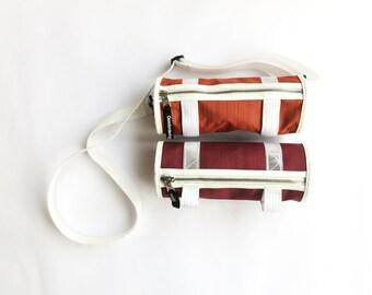 Bicycle saddle / handlebar bag & shoulder bag