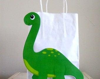 Dinosaur Goody Bags, Dinosaur Favor Bags, Dinosaur Party Bags