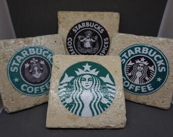 Starbucks (1971-Present) Logo Coasters