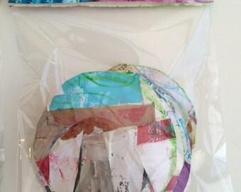 ART JOURNALING SCRAPBOOKING Craft Paper Supplies ooak #2