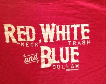 Red, White, and Blue with a few extra words to say