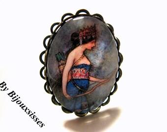 Lovely ring ...  VR166 - Adjustable Ring - Vintage Ring - gift under 15