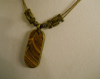 Bethany - A Bocote necklace (limited edition)