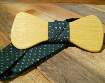 Wooden Bow Tie - Osage Orange