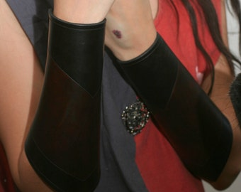 Made to Order --- Leather Bracers