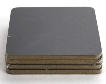 Set of 4 Chalkboard coasters. Great for events, Catering, rustic country events, weddings. (CBP038)