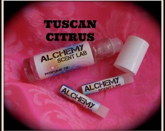 TUSCAN CITRUS-1/3 oz Perfume Oil- Free Samples!Free Shipping!