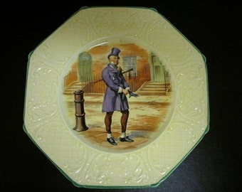 "Vintage Wedgwood ""Mr. Micawber""-David Copperfield-8.5"" Plate"