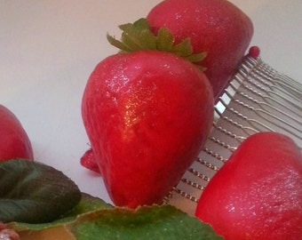 Spring Strawberry Hair Combs, Party, Costume, Cosplay, Hair Comb, Drag