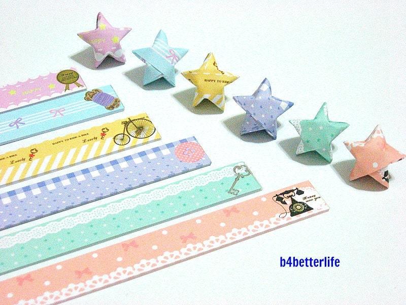 180 strips of diy origami lucky stars paper folding kit 26cm for Diy lucky stars