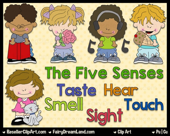 The Five Senses Commercial Use Digital Image Png Clipart