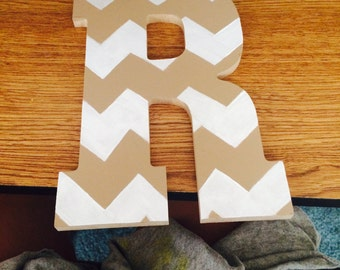 Wooden letters for names or initials