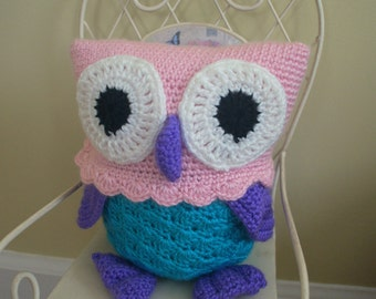 Cute, Cuddly Stuffed Owl
