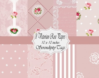 Victorian Rose Papers (8)